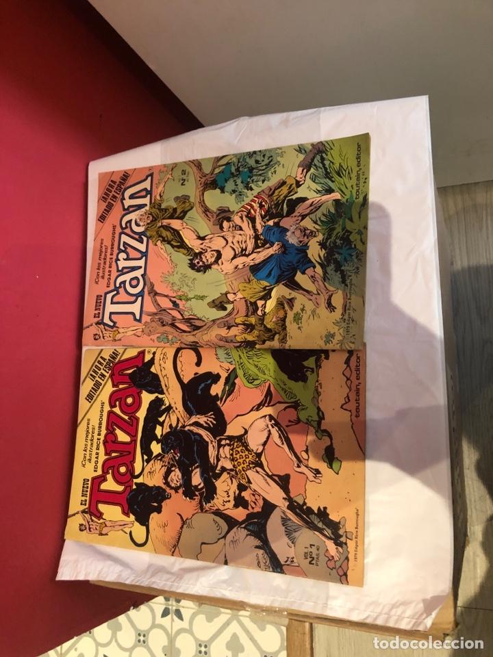 Cómics: El nuevo tarzan comics de 1980 editorial toutain - Foto 2 - 245394010