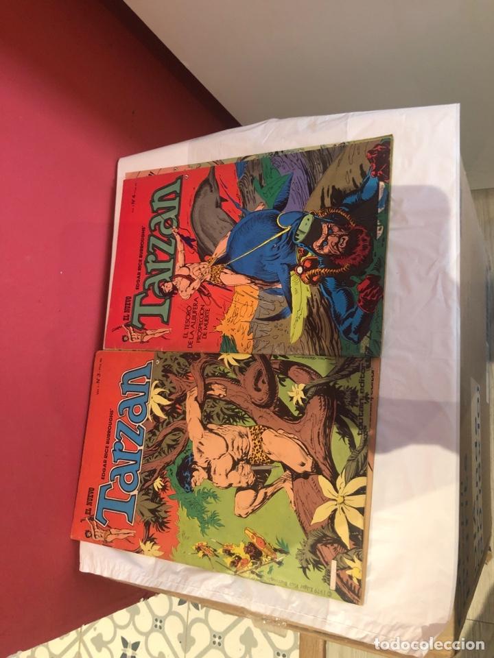 Cómics: El nuevo tarzan comics de 1980 editorial toutain - Foto 3 - 245394010