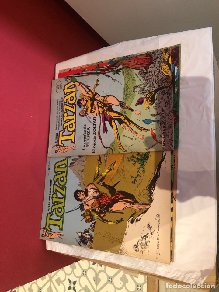 Cómics: El nuevo tarzan comics de 1980 editorial toutain - Foto 4 - 245394010