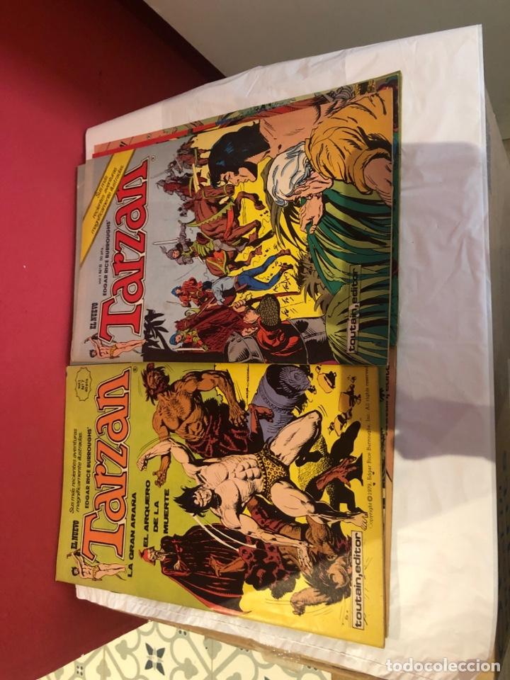 Cómics: El nuevo tarzan comics de 1980 editorial toutain - Foto 5 - 245394010