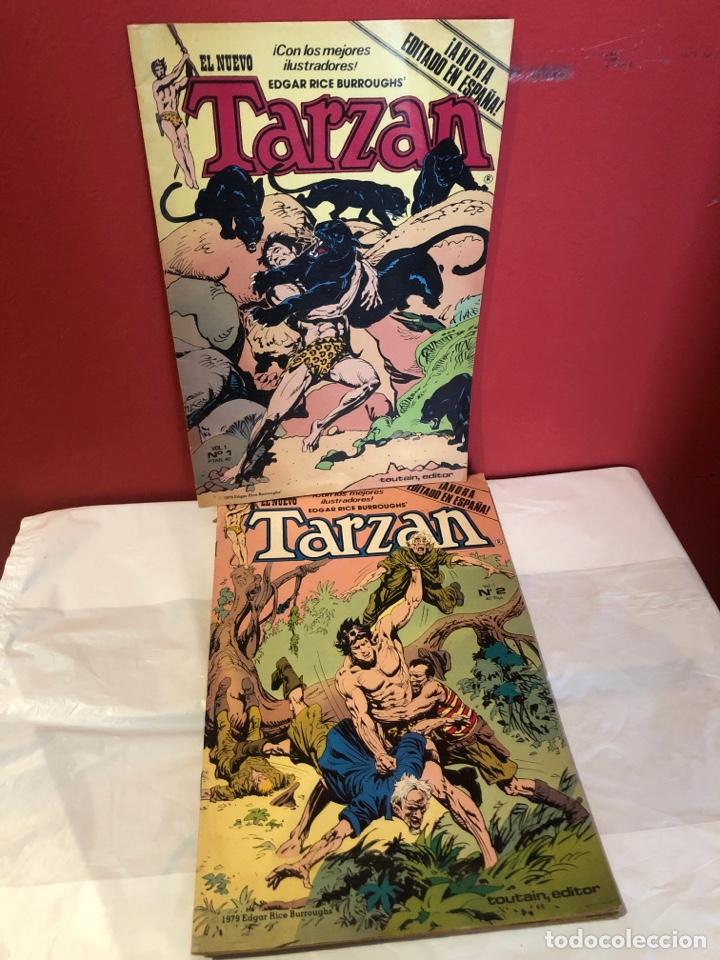 EL NUEVO TARZAN COMICS DE 1980 EDITORIAL TOUTAIN (Tebeos y Comics - Toutain - Otros)