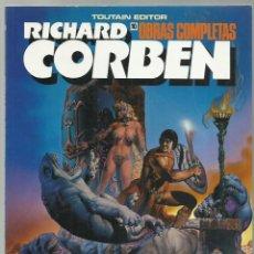 Comics : RICHARD CORBEN, OBRAS COMPLETAS 10: PILGOR, 1990, TOUTAIN, MUY BUEN ESTADO. Lote 245535810