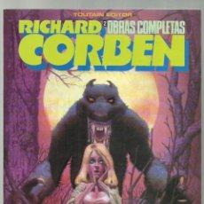 Comics : RICHARD CORBEN, OBRAS COMPLETAS 2: HOMBRE LOBO, 1984, TOUTAIN, MUY BUEN ESTADO. Lote 245536595