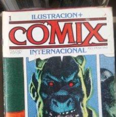Cómics: COMIX INTERNACIONAL. Nº 1. TOUTAIN. Lote 245574835