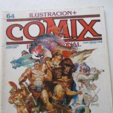 Comics: COMIX INTERNACIONAL Nº 64. TOUTAIN 1986. CARLOS GIMÉNEZ, M. SCHULTHEISS, MIGUELANXO PRADO E2. Lote 246060820