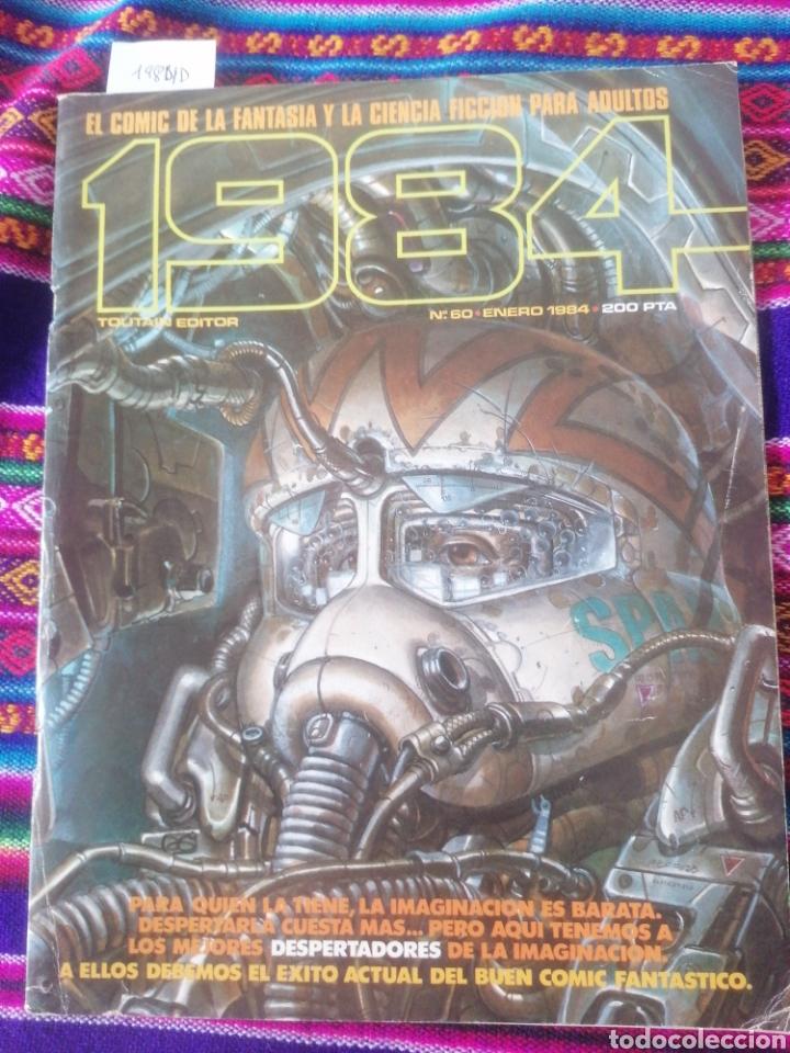 1984. N60. ENERO 1984. (Tebeos y Comics - Toutain - 1984)