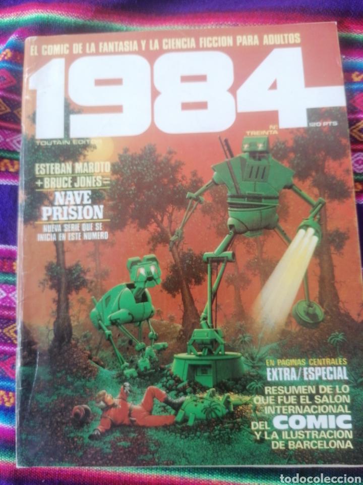 1984. N. TREINTA. EXTRA ESPECIAL. RESUMEN S. I. COMIC Y ILUSTRACION BCN. (Tebeos y Comics - Toutain - 1984)