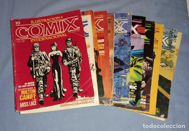 LOTE DE 11 NUMEROS DE COMICS COMIX INTERNACIONAL VER OTROS LOTES RELACIONADOS QUE TENEMOS EN SUBASTA (Tebeos y Comics - Toutain - Comix Internacional)
