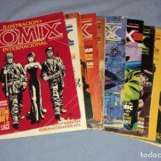 Cómics: LOTE DE 11 NUMEROS DE COMICS COMIX INTERNACIONAL VER OTROS LOTES RELACIONADOS QUE TENEMOS EN SUBASTA. Lote 246654835