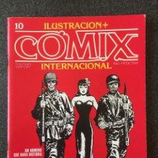 Fumetti: COMIX INTERNACIONAL Nº 10 - 1ª EDICIÓN - TOUTAIN - 1981 - ¡COMO NUEVO!. Lote 246931960