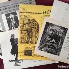 Cómics: JOSE TOUTAIN EDITOR - HOJAS PEDIDO Y CARTAS VAMPIRELLA PEPE GONZALEZ VAMPUS SANJULIAN MAROTO 1975 76. Lote 246932250