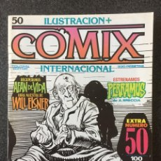 Fumetti: COMIX INTERNACIONAL Nº 50 - 1ª EDICIÓN - TOUTAIN - 1985 - ¡MUY BUEN ESTADO!. Lote 247157755
