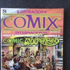 Fumetti: COMIX INTERNACIONAL Nº 51 EXTRA 100 PÁGINAS - 1ª EDICIÓN - TOUTAIN - 1985 - ¡COMO NUEVO!. Lote 247158600