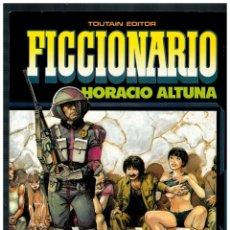 Comics : FICCIONARIO -HORACIO ALTUNA- TOUTAIN EDITOR 1985. EXCELENTE.. Lote 247558025