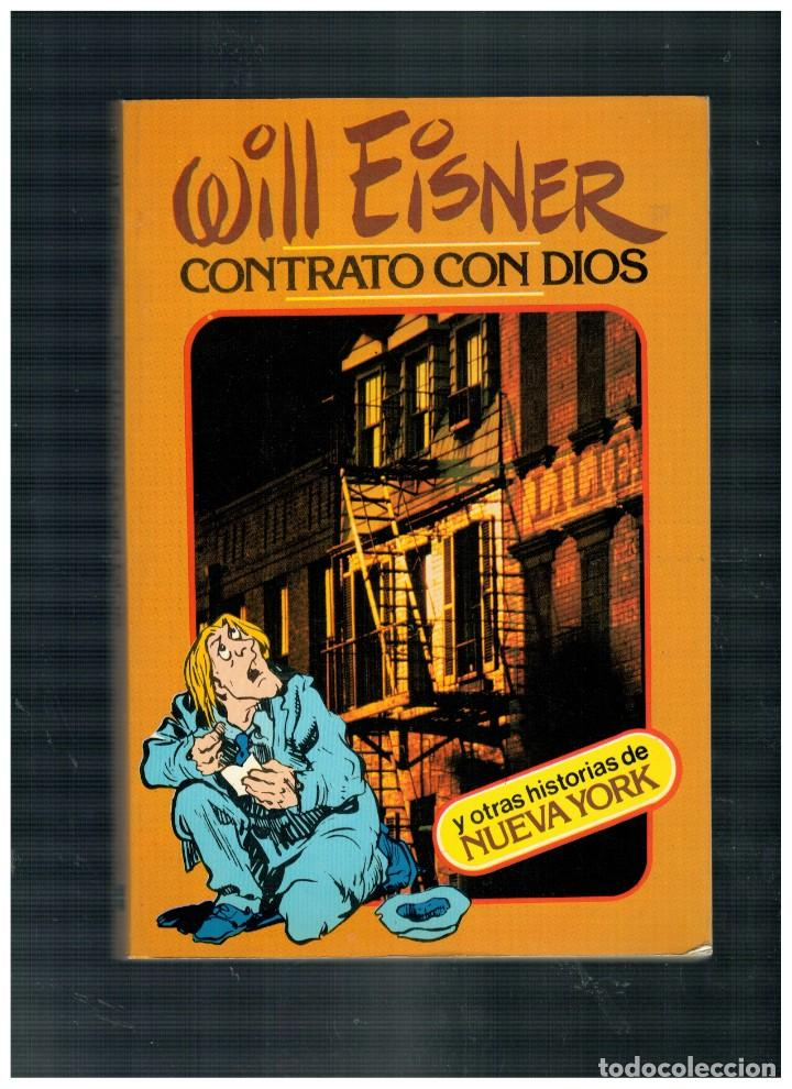 WILL EISNER -CONTRATO CON DIOS- TOUTAIN 1ª EDICIÓN 1979. BUENO. (Tebeos y Comics - Toutain - Obras Completas)