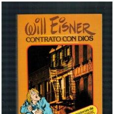 Comics : WILL EISNER -CONTRATO CON DIOS- TOUTAIN 1ª EDICIÓN 1979. BUENO.. Lote 247999250