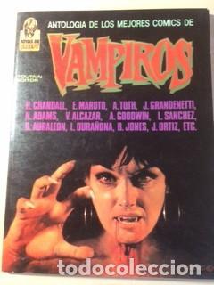 ANTOLOGÍA DE LOS MEJORES COMICS DE VAMPIROS (Tebeos y Comics - Toutain - Creepy)