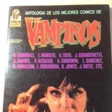 Cómics: ANTOLOGÍA DE LOS MEJORES COMICS DE VAMPIROS. Lote 248058595