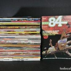 Comics: ZONA 84 GRAN LOTE CORRELATIVO 1 - 51 + 2 ALMANAQUES Y 2 EXTRAS + 2 ESPECIALES POSTERS MUY BUENO. Lote 248222290