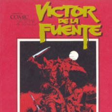 Cómics: VICTOR DE LA FUENTE. CUANDO EL CÓMIC ES ARTE. TOUTAIN, 1982. Lote 248305500