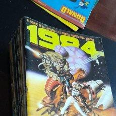 Cómics: LOTE DE 21 COMIC DE LA FANTASIA Y LA CIENCIA FICCION 1984.. Lote 250157495