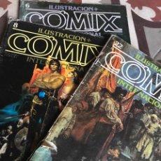 Cómics: REVISTA COMIX INTERNACIONAL ILUSTRACIÓN NÚMERO 6. Lote 251202510