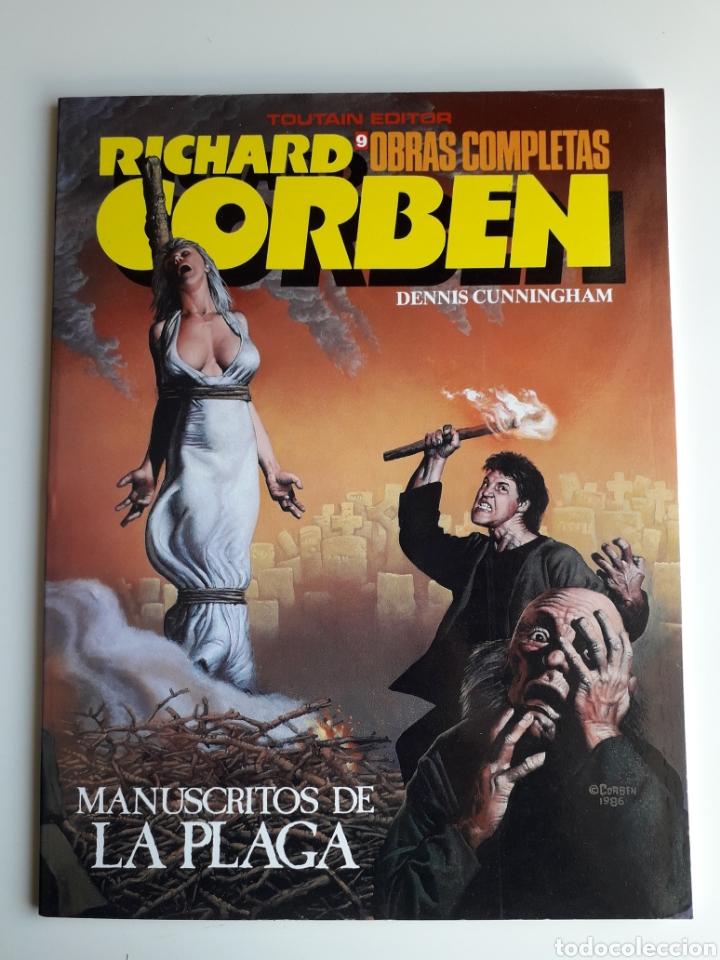 RICHARD CORBEN OBRAS COMPLETAS NUM 9. ¡ NUEVO! (Tebeos y Comics - Toutain - Obras Completas)