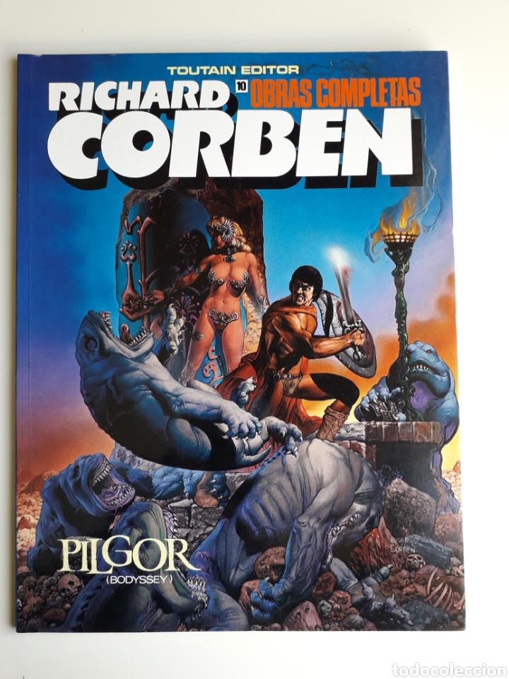RICHARD CORBEN OBRAS COMPLETAS. NUM 10. ¡ NUEVO! (Tebeos y Comics - Toutain - Obras Completas)