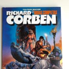Cómics: RICHARD CORBEN OBRAS COMPLETAS. NUM 10. ¡ NUEVO!. Lote 251624665