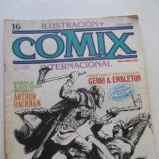 Comics: COMIX INTERNACIONAL. Nº 16. TOUTAIN 1982 E2. Lote 252203615