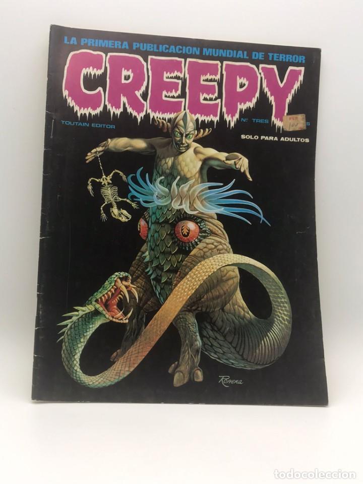 GREEPY Nº 3 (Tebeos y Comics - Toutain - Creepy)