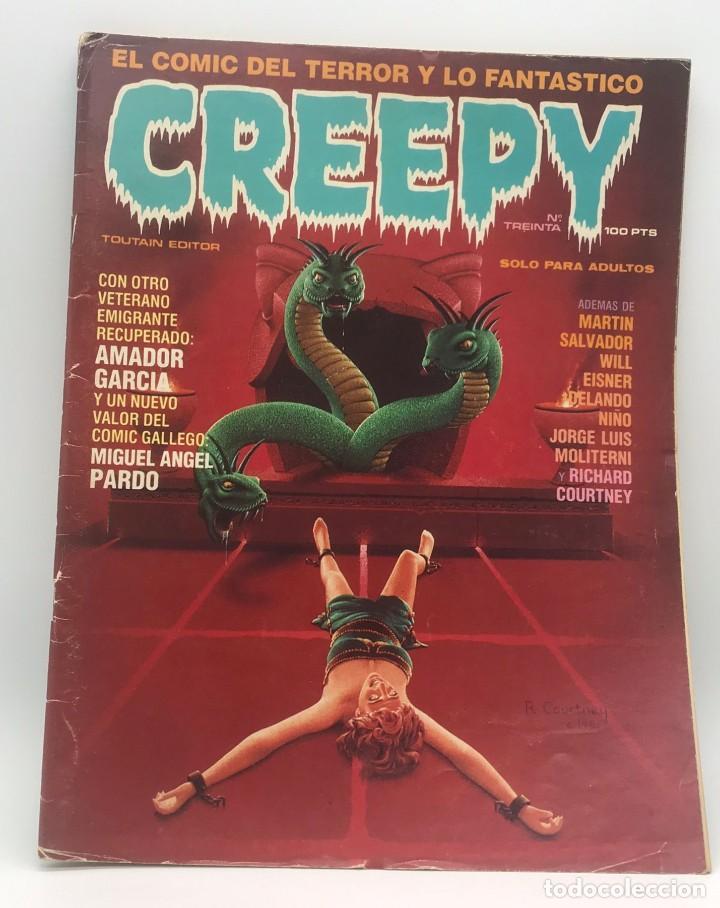 CREEPY Nº 30 (Tebeos y Comics - Toutain - Creepy)