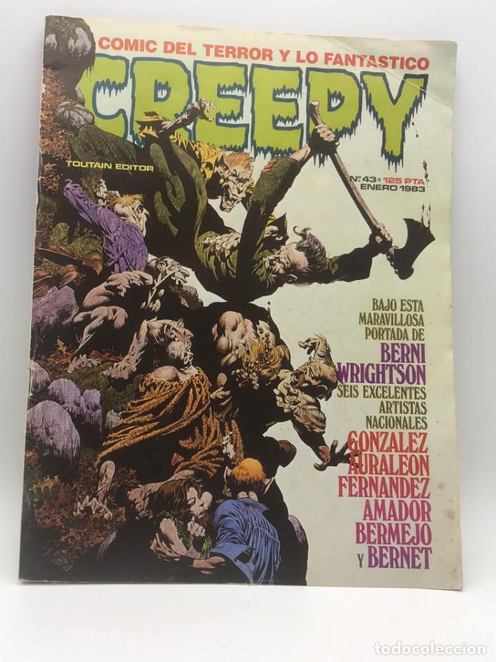 CREEPY Nº 43 (Tebeos y Comics - Toutain - Creepy)