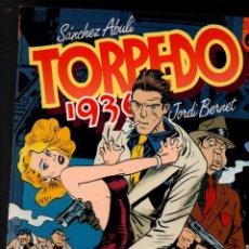 Cómics: TORPEDO 1936. TOMO Nº 6. SANCHEZ ABULI - JORDI BERNET. TOUTAIN EDITOR, 1988. Lote 252622140