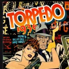 Cómics: TORPEDO 1936. TOMO Nº 5. SANCHEZ ABULI - JORDI BERNET. TOUTAIN EDITOR, 1987. Lote 252622255