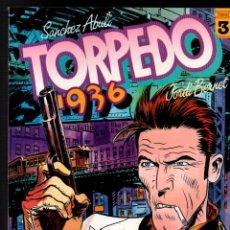Cómics: TORPEDO 1936. TOMO Nº 3. SANCHEZ ABULI - JORDI BERNET. TOUTAIN EDITOR, 1985. Lote 252622455