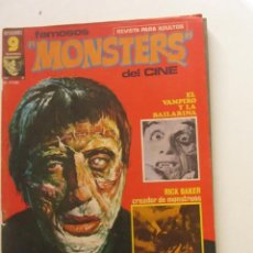 Cómics: FAMOSOS MONSTERS DEL CINE. Nº 2 . GARBO EDITORIAL, 1975 E2. Lote 252702390