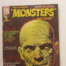 Cómics: FAMOSOS MONSTERS DEL CINE. Nº 3 GARBO EDITORIAL, 1975 LEER DESCRIPCION E2. Lote 252702750