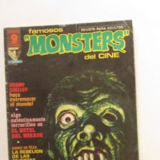 Cómics: FAMOSOS MONSTERS DEL CINE. Nº 5 GARBO EDITORIAL, 1975 LEER DESCRIPCION E2. Lote 252729185