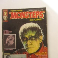 Cómics: FAMOSOS MONSTERS DEL CINE. Nº 8 GARBO EDITORIAL, 1975 LEER DESCRIPCION E2. Lote 252729215