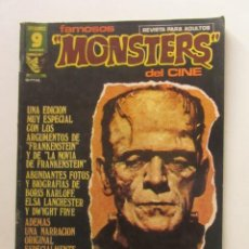 Cómics: FAMOSOS MONSTERS DEL CINE. Nº 14 ESPECIAL FRANKENSTEIN GARBO EDITORIAL, 1975 LEER DESCRIPCION E2. Lote 252729260
