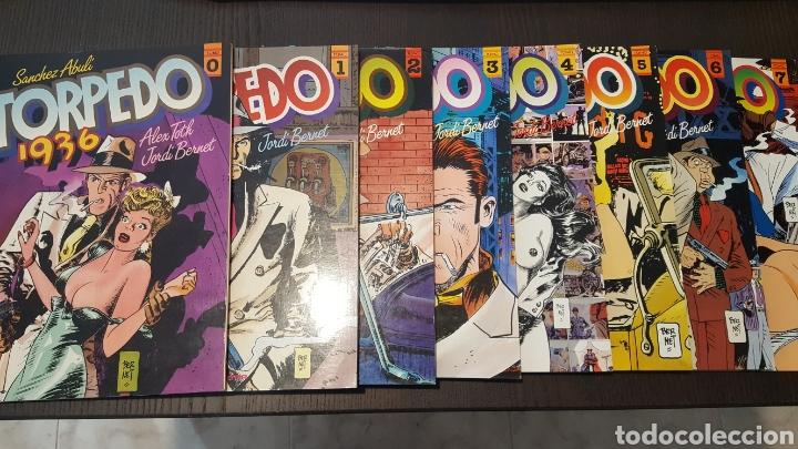 COMICS - TORPEDO 1936 - COLECCIÓN COMPLETA TOUTAIN - 8 TOMOS DEL 0 AL 7 (Tebeos y Comics - Toutain - Álbumes)