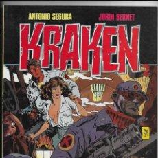 Cómics: KRAKEN TOUTAIN EDITOR S.A. 1987. Lote 253015590