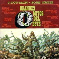 Cómics: GRANDES MITOS DEL OESTE 1 Y 2 DE LA EDITORIAL TOUTAIN. Lote 253109855