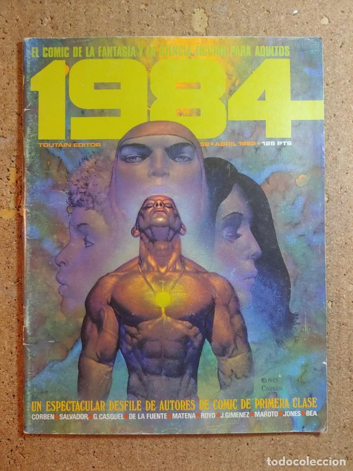 COMIC 1984 DEL AÑO 1982 Nº 39 (Tebeos y Comics - Toutain - 1984)