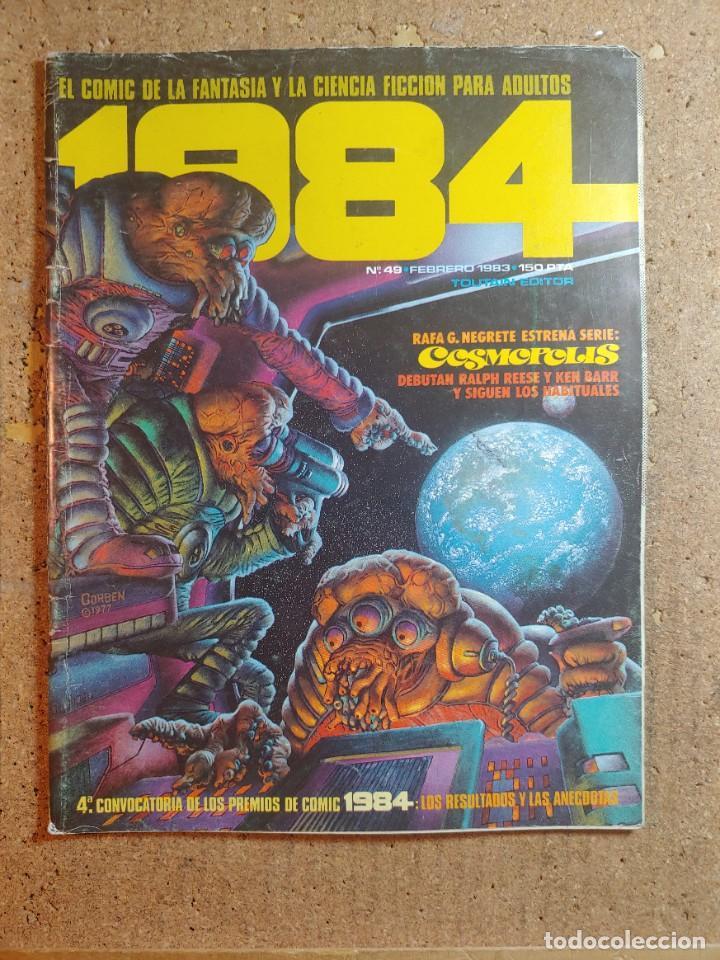 COMIC 1984 DEL AÑO 1983 Nº 49 (Tebeos y Comics - Toutain - 1984)