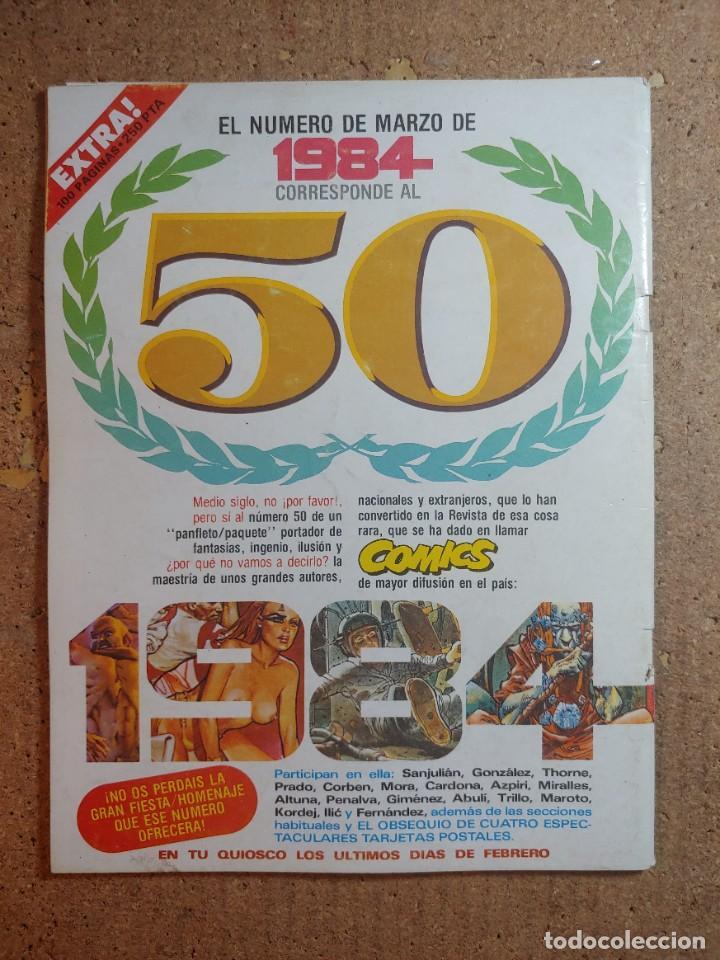 Cómics: COMIC 1984 DEL AÑO 1983 Nº 49 - Foto 2 - 253407555