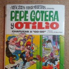 Cómics: COMIC DE ALEGRES HISTORIETAS DE PEPE GOTERA Y OTILIO EN CHAPUZAS A GO - GO DEL AÑO 1971. Lote 253407980