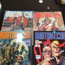 Cómics: BURTON & CYB. COLECCIÓN COMPLETA 4 TOMOS. ANTONIO SEGURA, JOSÉ ORTIZ. Lote 253475995