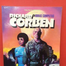 Comics : ANTIGUO COMIC TOMO OBRAS COMPLETAS NÚMERO 1 JEREMY BRODD DEL MAESTRO RICHARD CORBEN TOUTAIN. Lote 253713305